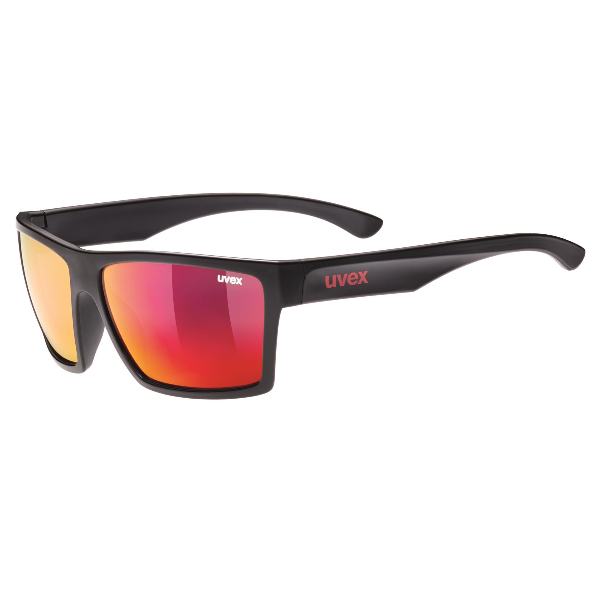 Uvex LGL 35 Colorvision Sonnenbrille Schwarz/Braun KXomG