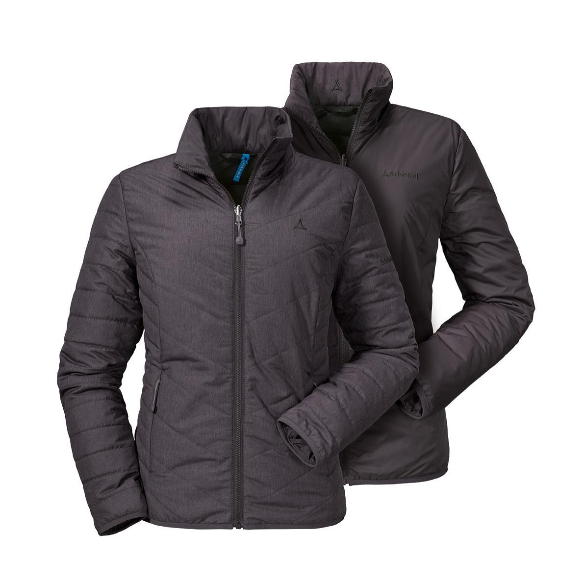 Schöffel Alyeska1 Jacket Wendejacke braun Damen Gr. 42
