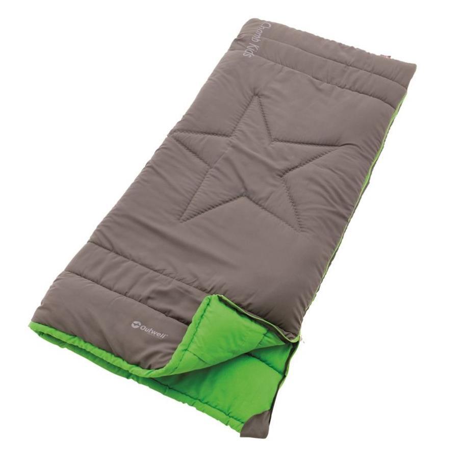 Outwell Champ Kids Rock Grey Kinderschlafsack grau / grün
