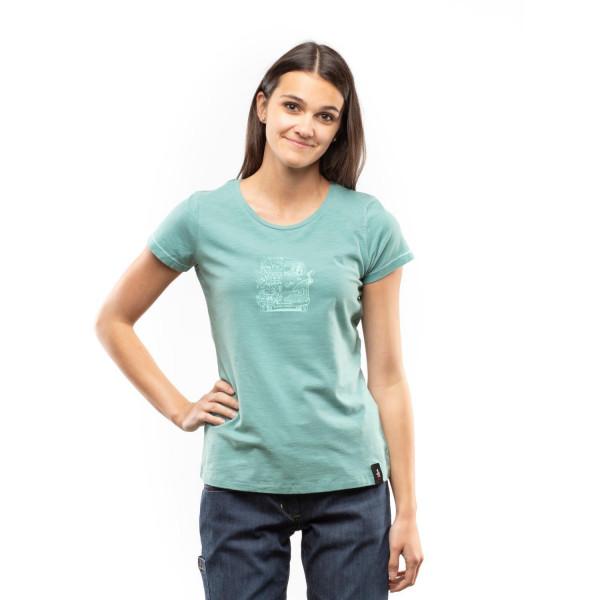 Gandia Lettering Bus Damen T-Shirt