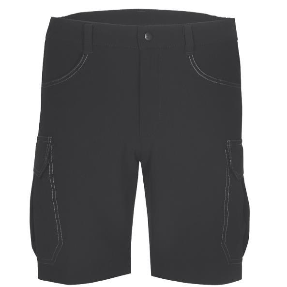 Hot Sportswear Gstaad Herren Shorts schwarz Gr. 56