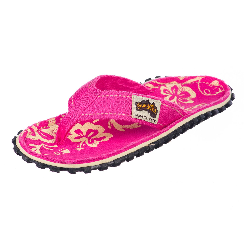 Gumbies GUMBIES - Australien Shoes Women Zehensandalen pink,pink hibiscus Damen Gr. 38 Preisvergleich