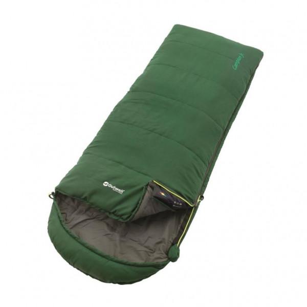 Campion Junior Green Kinderschlafsack