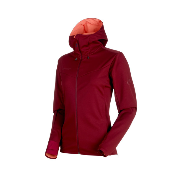 Ultimate V SO Hooded Jacket Women Softshelljacke