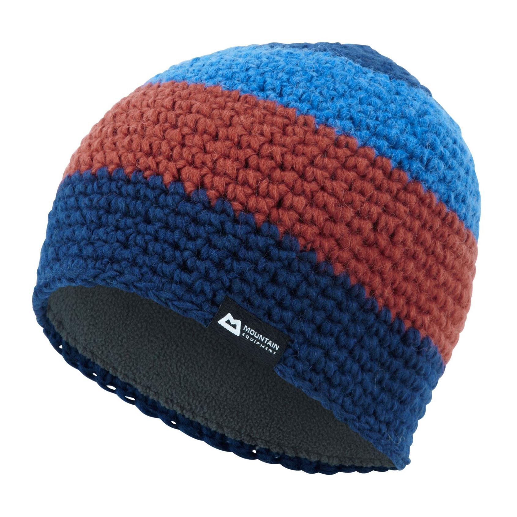 Mountain Equipment Flash Beanie Mütze blau/orange