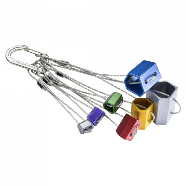 Wired Hexentric Nut Set No. 4-10