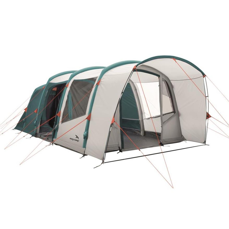 easy camp Match Air 500 Familienzelt grün,teal green | 05709388102119