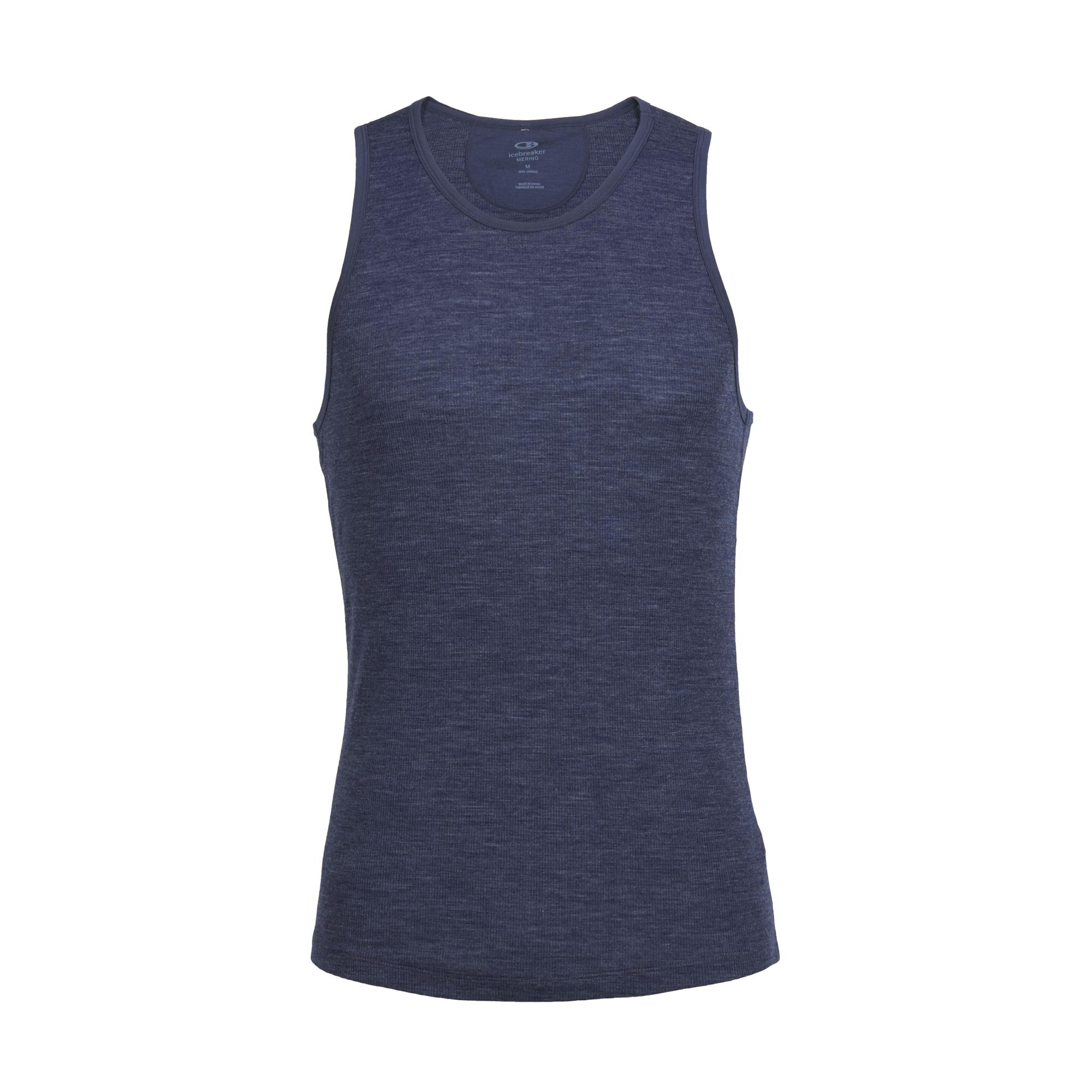 Icebreaker Anatomica Rib Tank Unterhemd dunkelblau Herren jetztbilligerkaufen