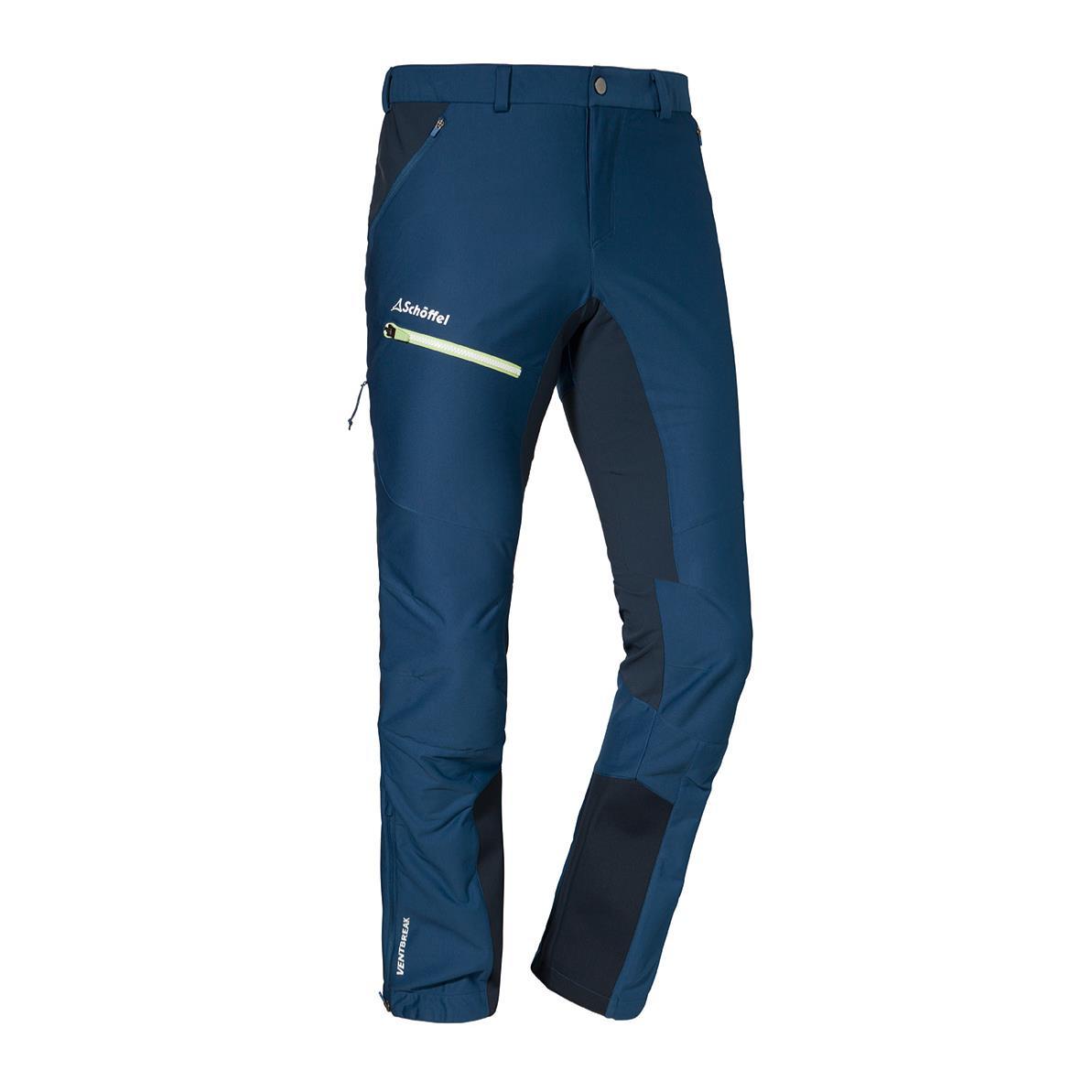 Schöffel Val d Isere Softshell Pants Herren Tourenhose dunkelblau