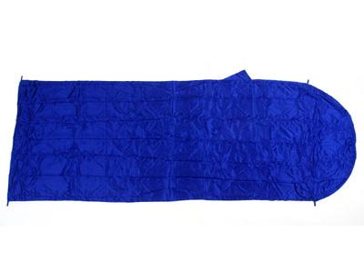 Basic Nature Seiden Inlett Hüttenschlafsack blau
