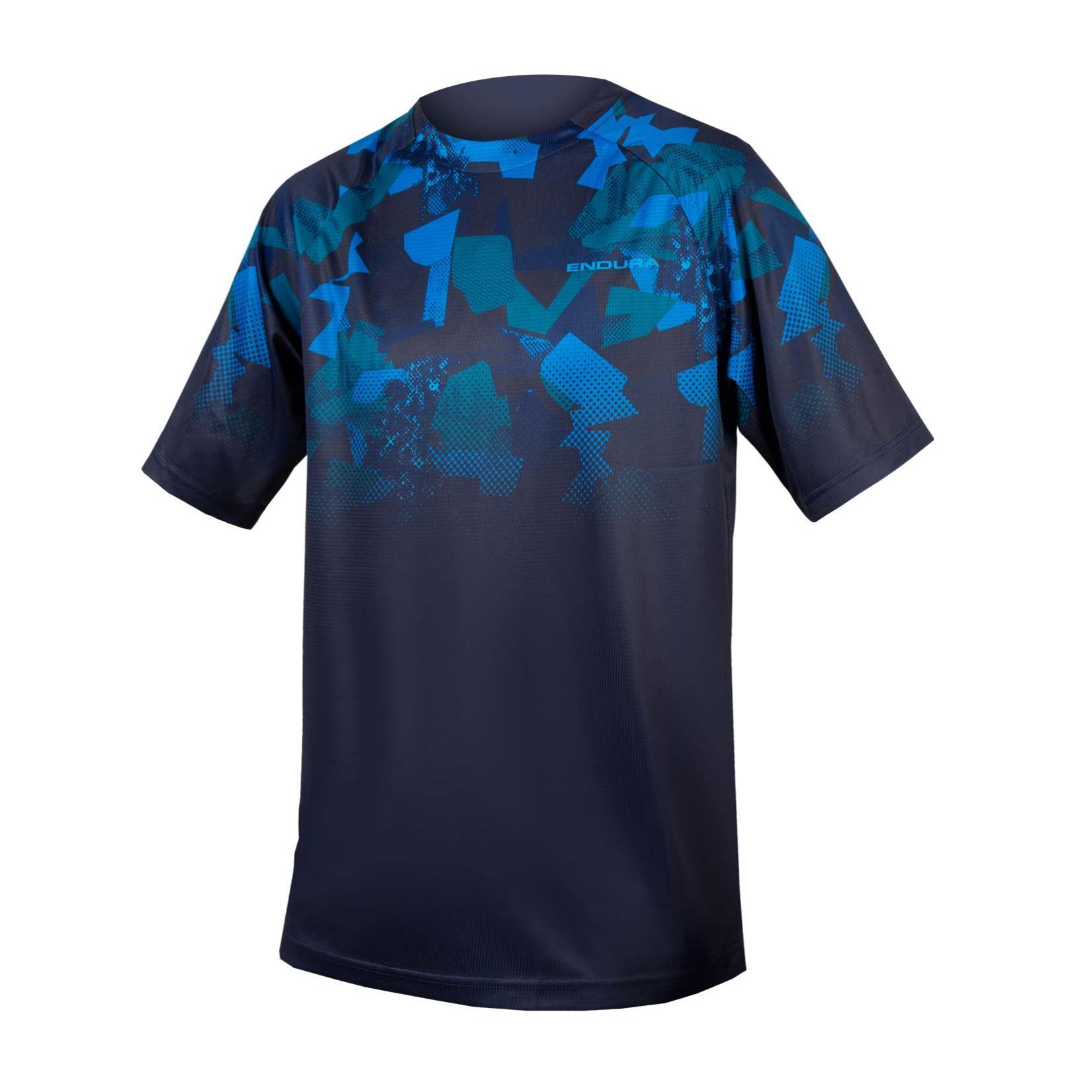 Nike Elite Kurzarm T-Shirt Basketball Sport Tee Shirt Trikot Blau 830949 480