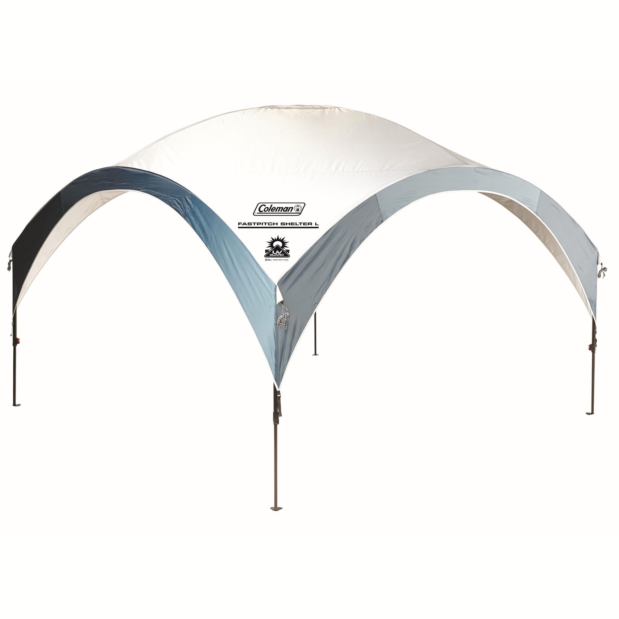 Coleman Fast Pitch Shelter XL Pavillon weiss/blau