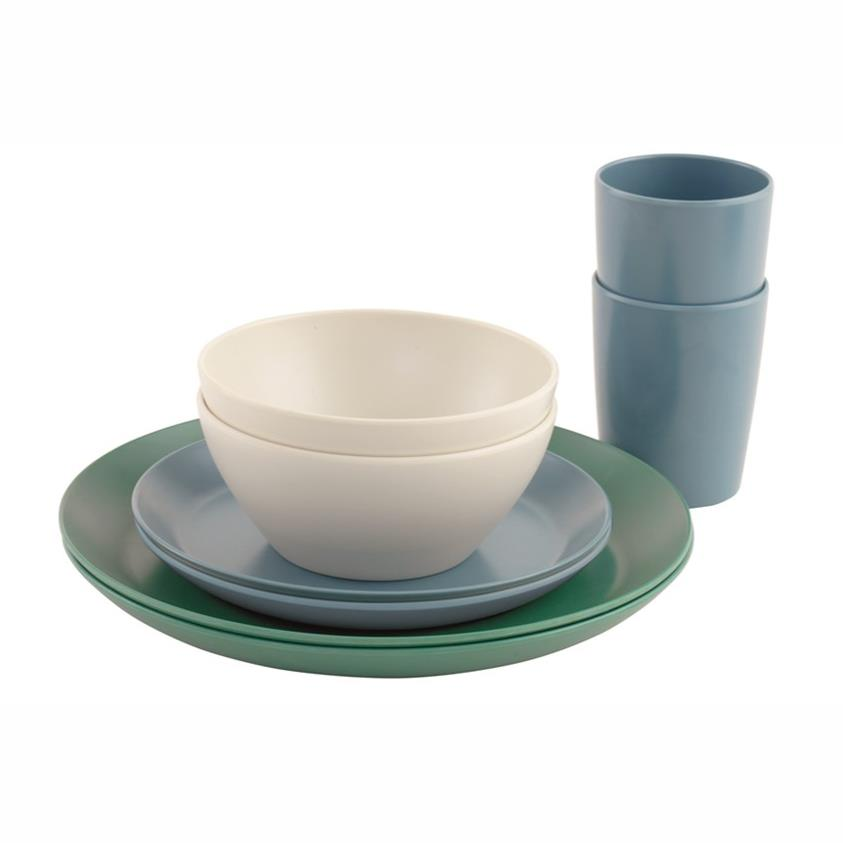 Daisy Dinner Set 2 Personen Geschirr-Set