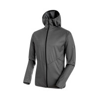 size 40 02297 14340 Mammut Ultimate V Tour SO Hooded Jacket Men Softshelljacke