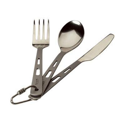 Nordisk Titanium Cutlery 3pc Set
