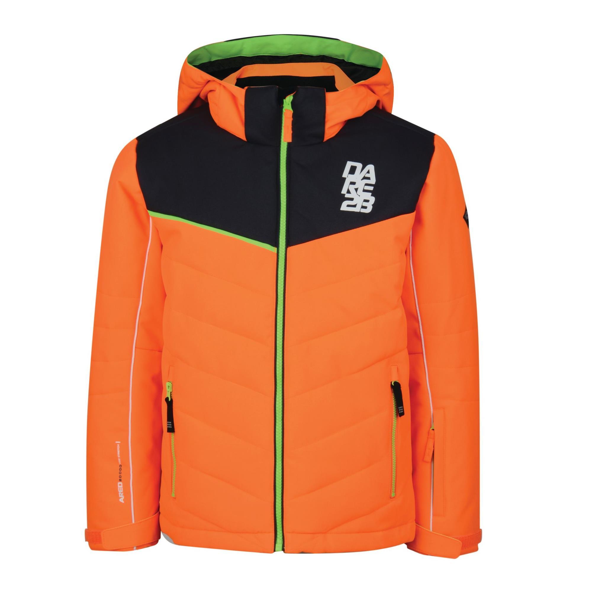 dare2b Tusk II Jacket Kinder Skijacke orange 116, Gr. 116
