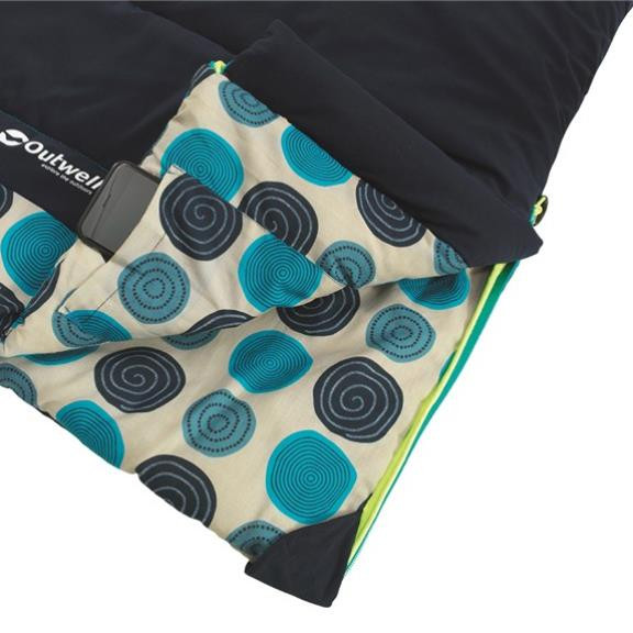 Circles Kids Navy Kinder Schlafsack