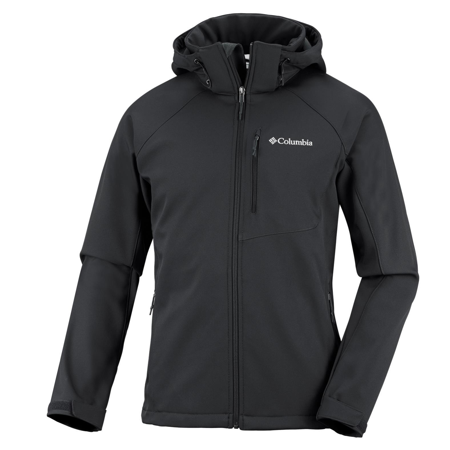 Columbia Cascade Ridge II Softshelljacke schwarz Herren Gr. XL Preisvergleich