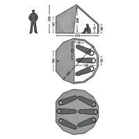 Asgard 12.6 Basic Cabin Innenkabine