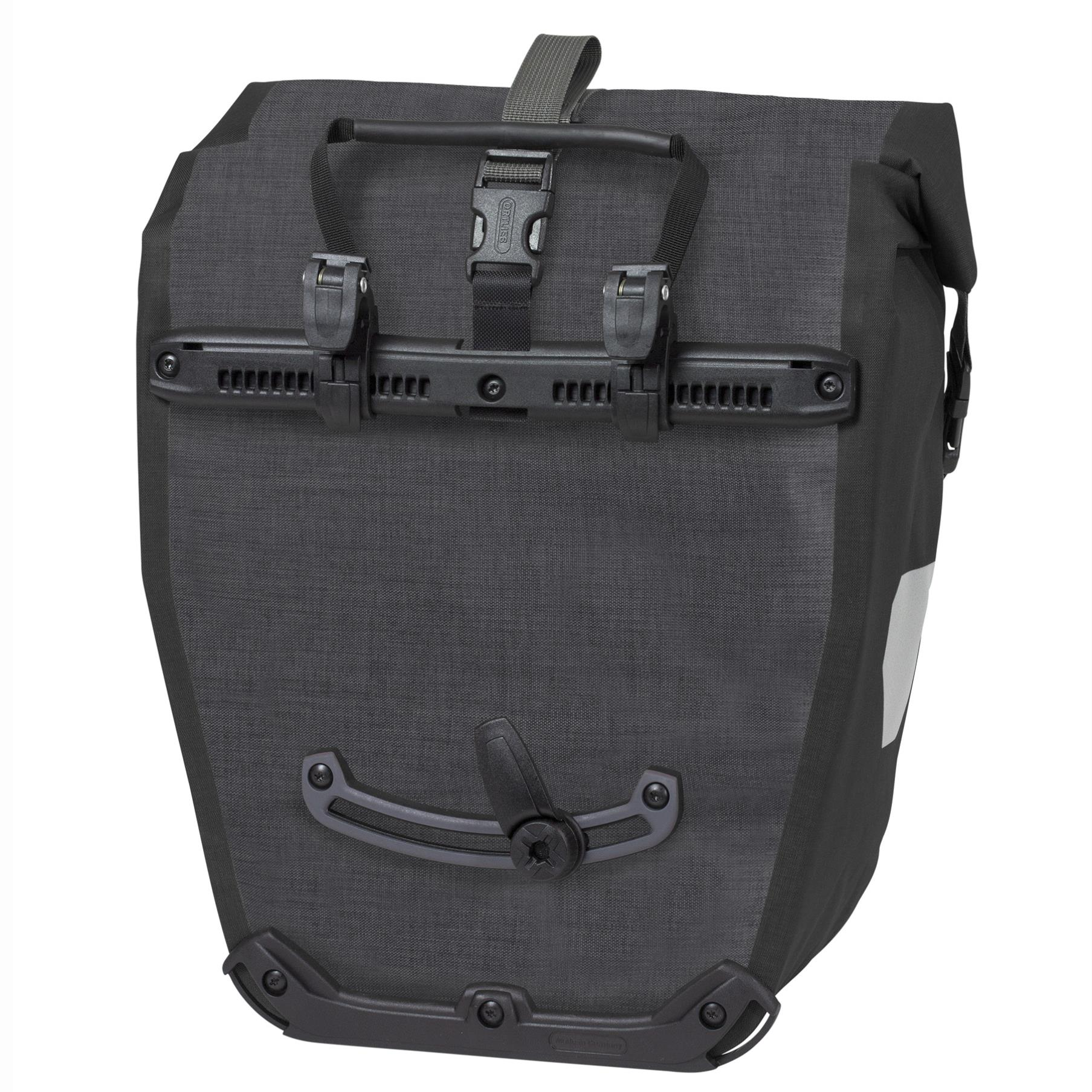 Ortlieb Back-Roller Plus Fahrradtasche granit-schwarz