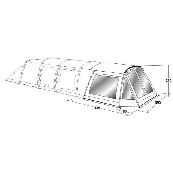 Flagstaff 6ATC Front Awning Zeltanbau Modell 2017