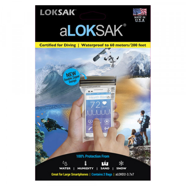 aLoksak 2er Set 8,5 x 16,5 cm