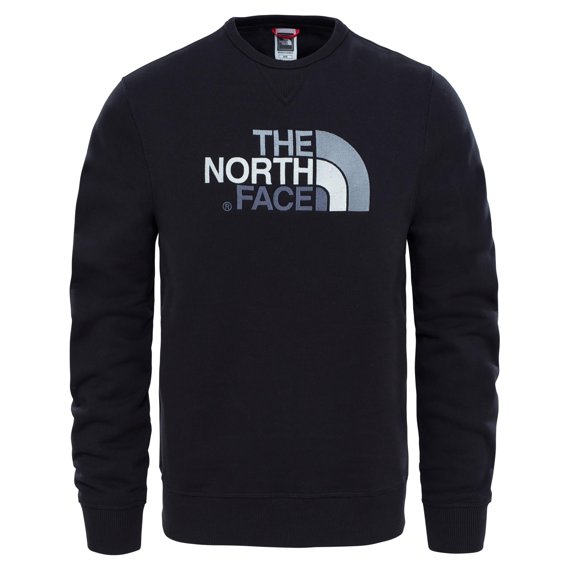 The North Face M Drew Peak Crew Pullover Herren schwarz S, Gr. S