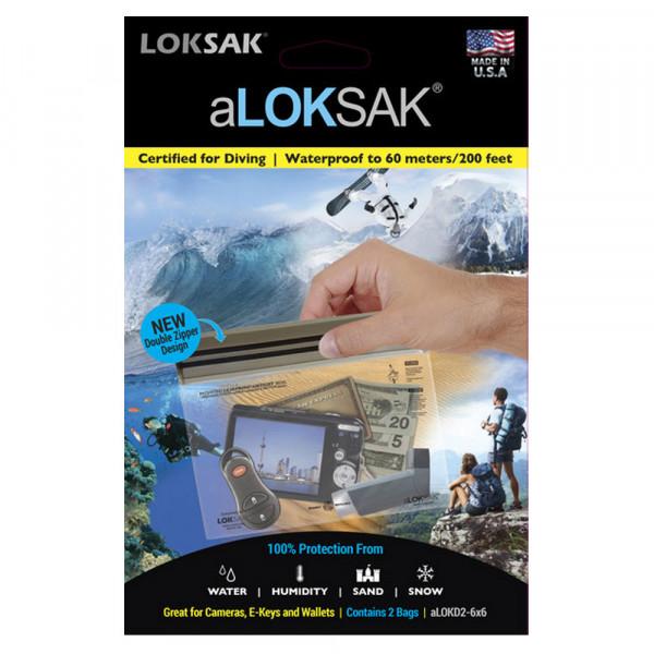 aLoksak 2er Set 16,1 x 13,3 cm