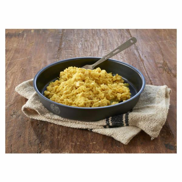 Huhn in Curryreis Trekkingnahrung