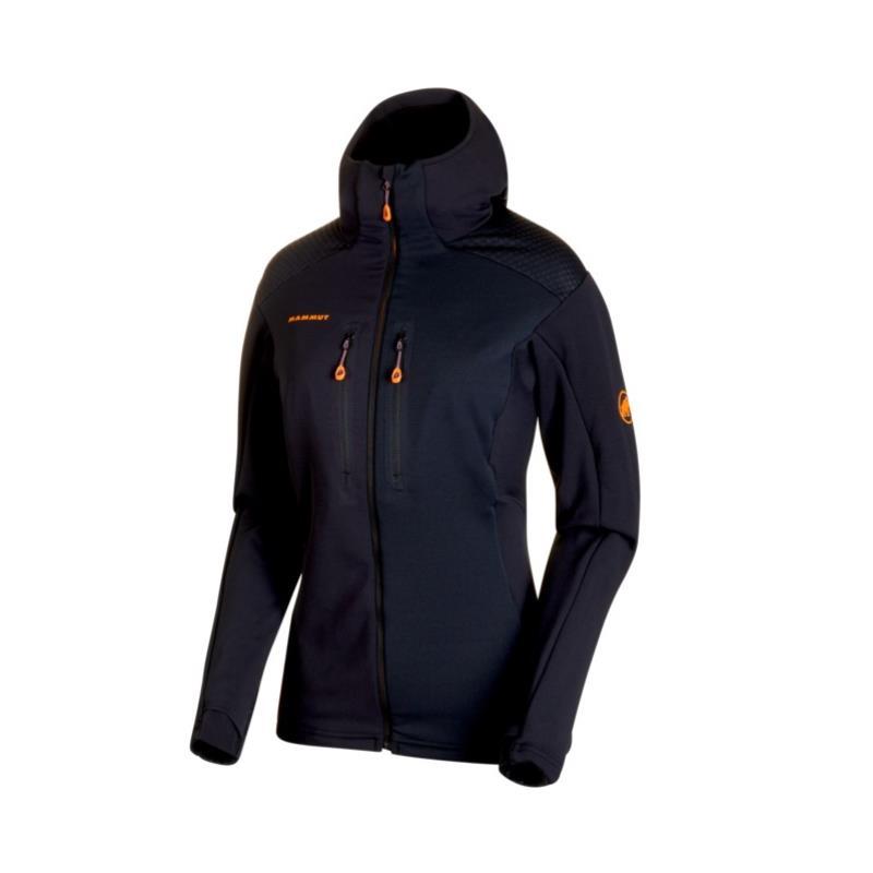 Mammut Eiswand Advanced ML Hooded Jacket Damen Kapuzenjacke schwarz Gr. M Preisvergleich