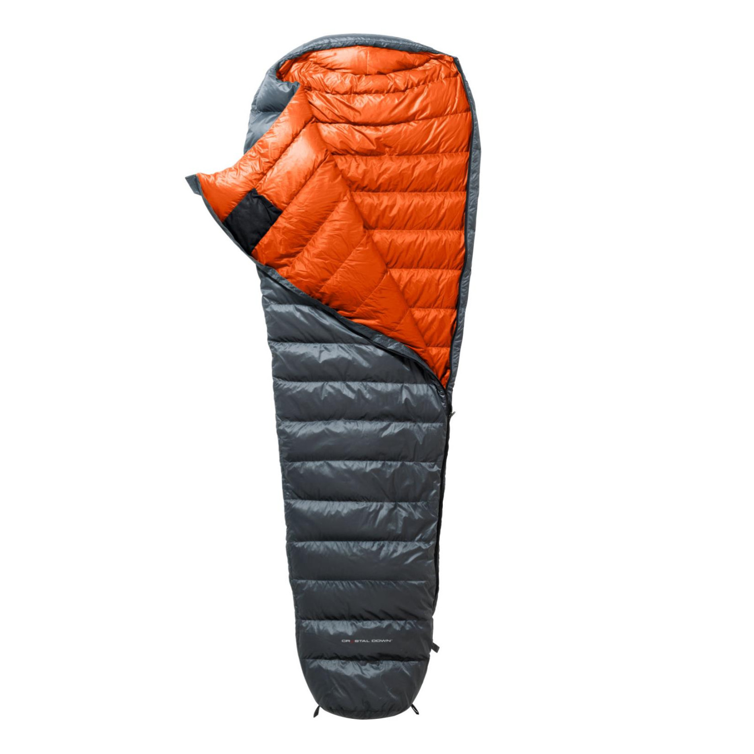 Image of Yeti Phantom 440 M Daunenschlafsack smoked pearl / orange