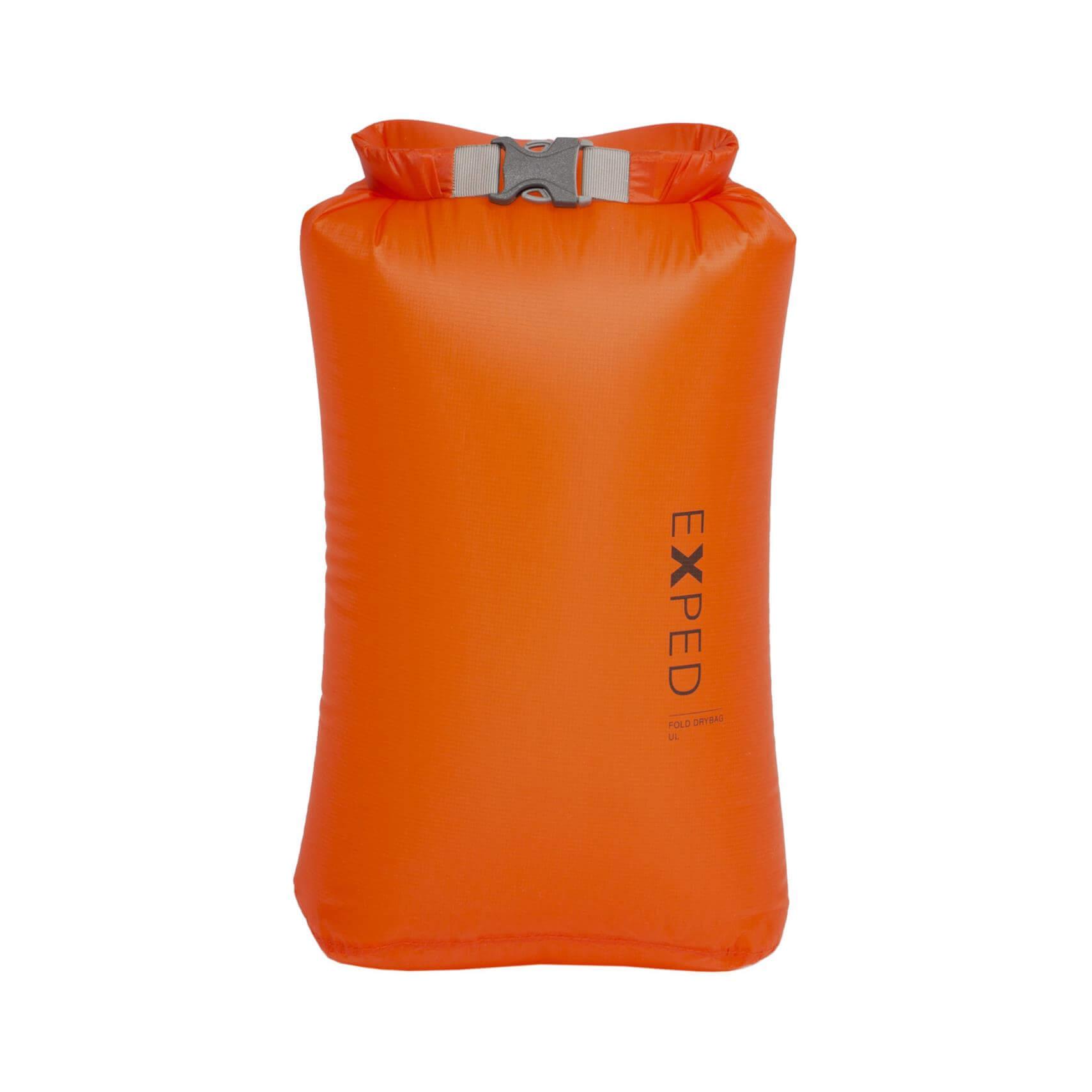 Image of Exped Fold Drybag UL XS Packsack orange