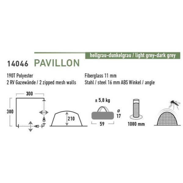 Pavillon 3 x 3