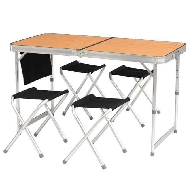 easy camp Belfort Picnic Tisch + Stühle Preisvergleich