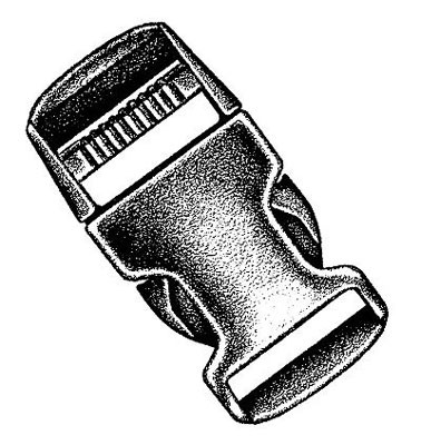 NM Steckschließe 50 mm