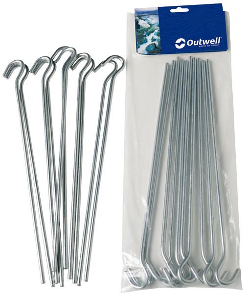 Offene Stahl-Heringe 18 cm