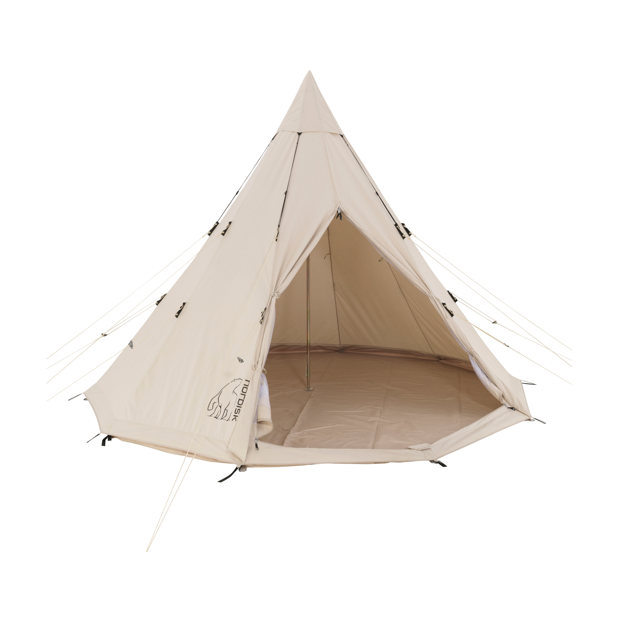 alfheim 19 6 organic cotton tipi zelt g nstig kaufen. Black Bedroom Furniture Sets. Home Design Ideas