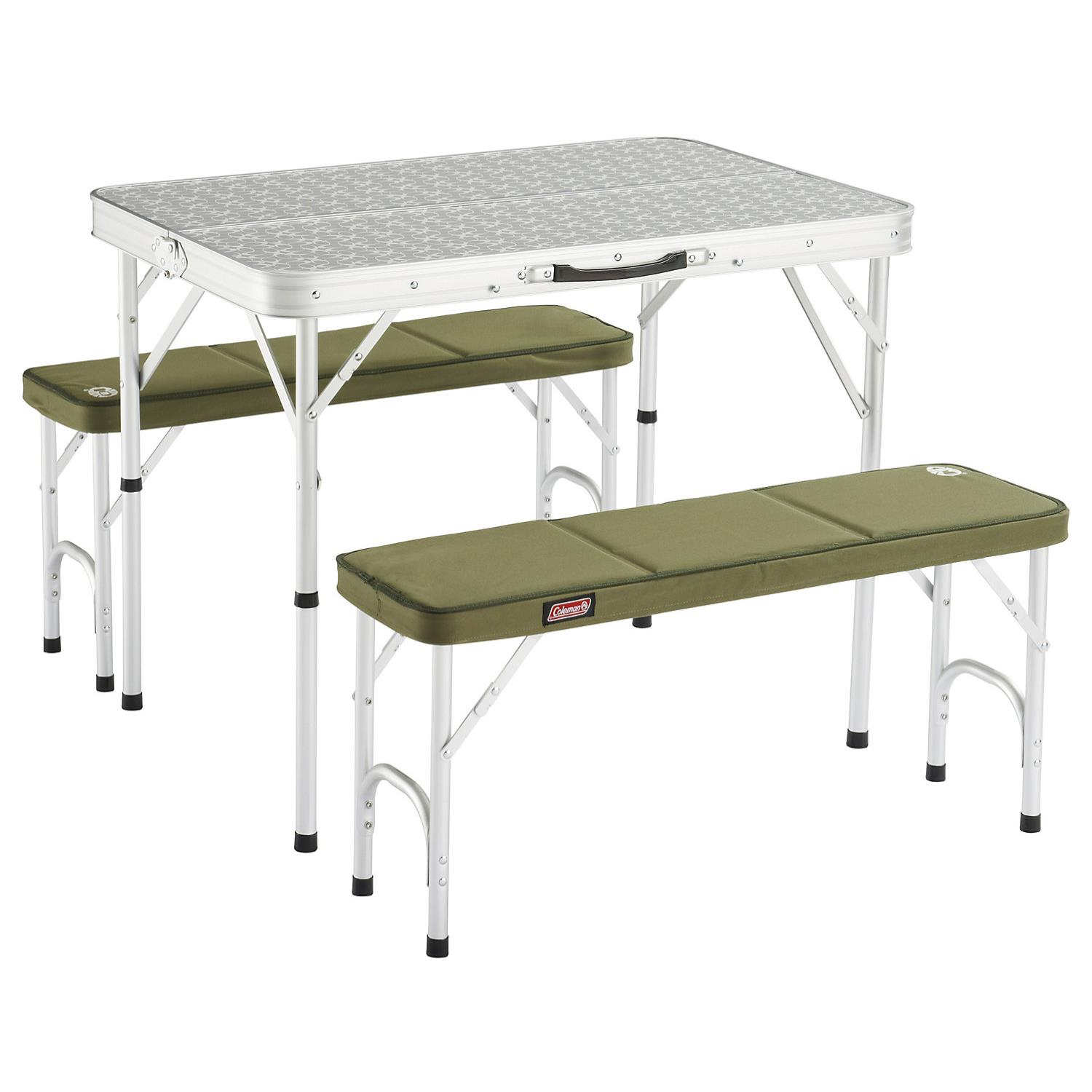 Coleman Pack-Away Table for 4 Sitz-Set