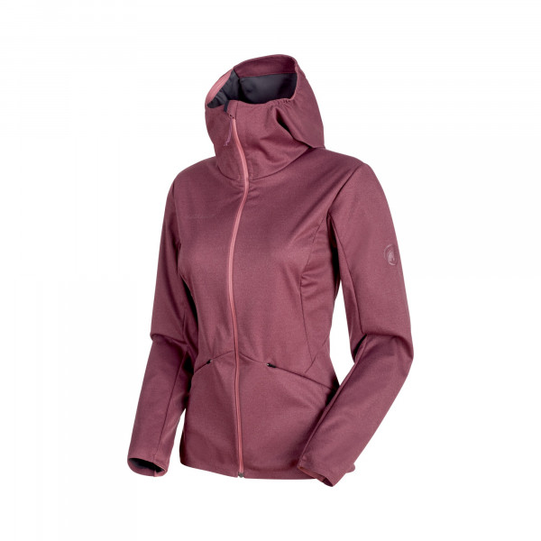 Ultimate V Tour SO Hooded Jacket Women Softshelljacke