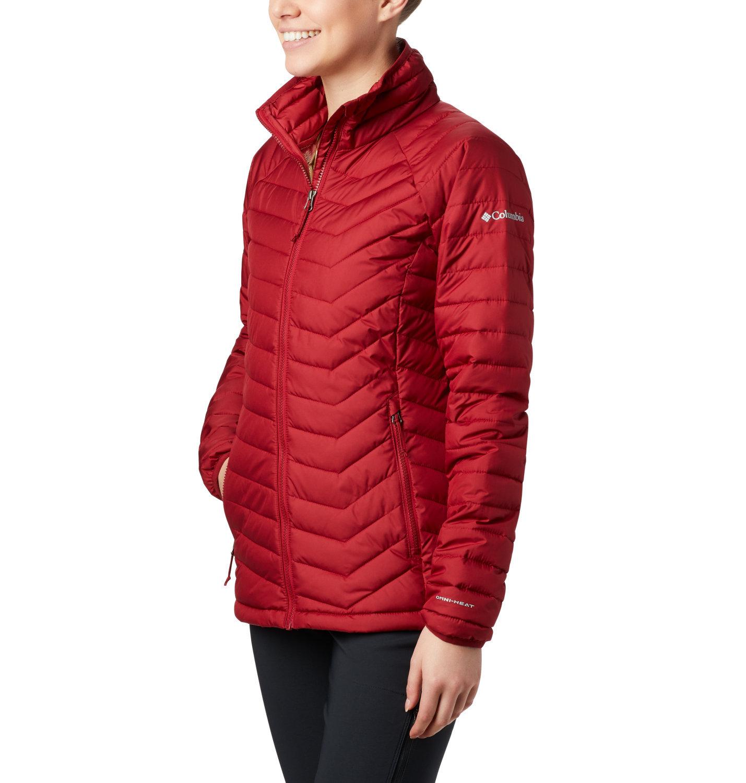 Columbia Powder Lite Jacket Women Damen Outdoorjacke bordeaux Gr. M Preisvergleich