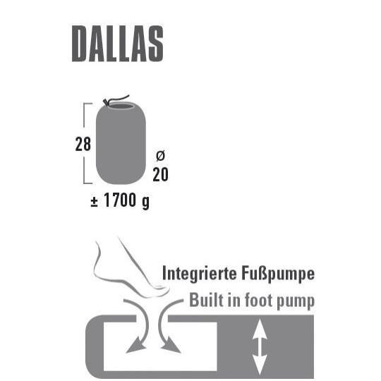 Dallas Thermomatte