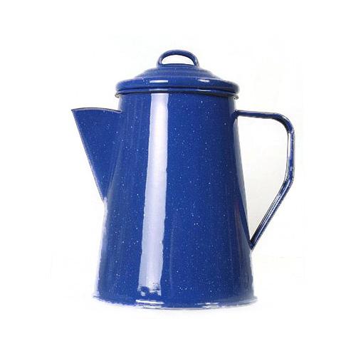 Emaille Kaffeekanne 1,8 L blau