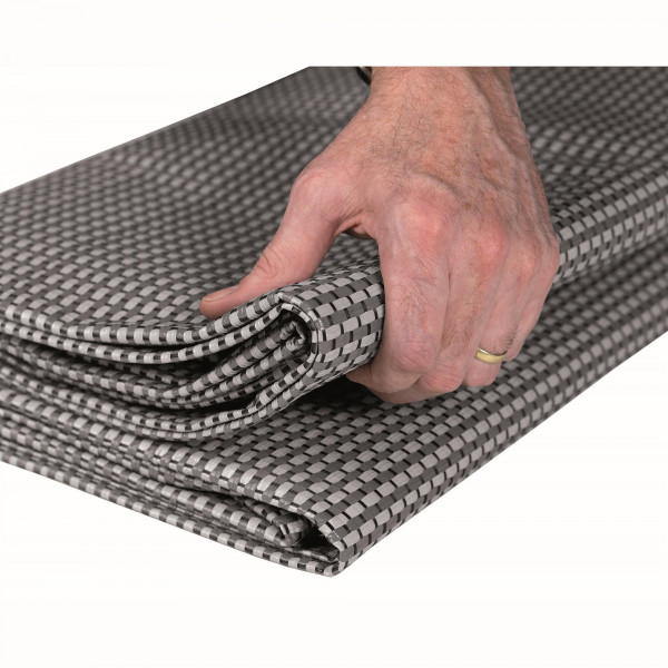 Teppich Starlon 280 x 700 cm grau