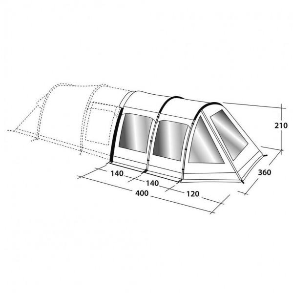 Roswell 5ATC Front Awning Zeltanbau Modell 2017
